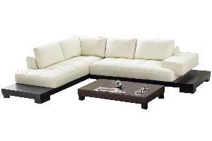 LSLS-020 L Shape Leatherite Sofa