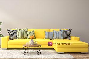 SFS-049 L Shape Fabric Sofa