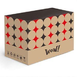 Printed Brown Corrugated Box