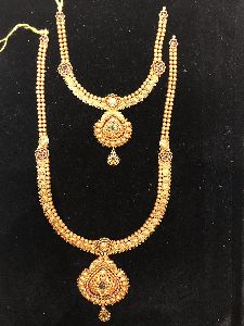South Antique Gold Necklace
