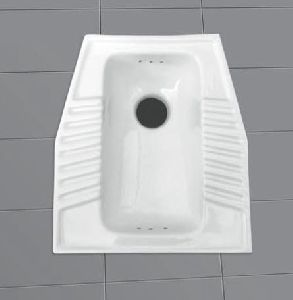 Box Squatting Toilet Pan