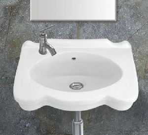 Prisma Wall Mounted Wash Basin