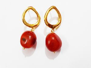 JR-ER001 Gemstone Earrings