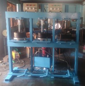 Hydraulic Semi Automatic Areca plate making machine