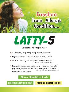 Latty 5mg Tablets