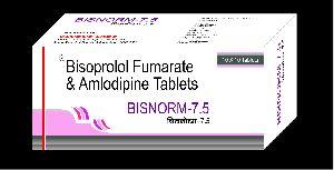 Bisorprolol Fumarate & S-Amlodipine Besilate Tablets