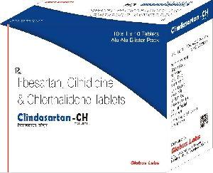 Irbesartan, Cilnidipine & Chlorthalidine Tablets