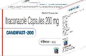Itraconazole 200 mg  Capsules