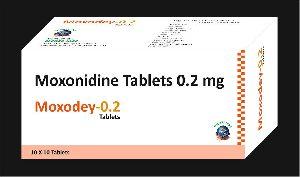 Moxonidine 0.2 mg tab