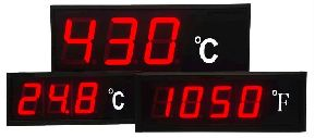 Temperature Input Large Digit Display