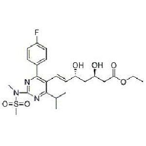 Rosuvastatin (3R,5R)-Isomer Ethyl Ester