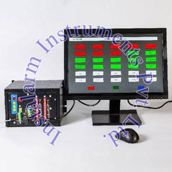 LCD Monitor Based Annunciator