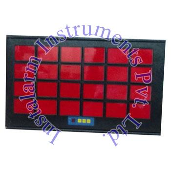 Multipoint Facia Display Annunciator