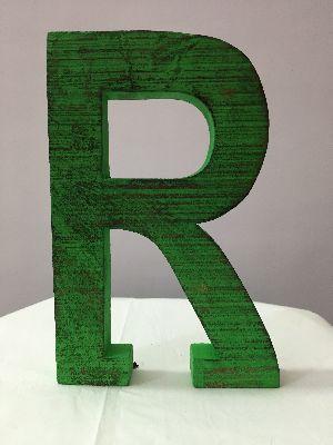 Wooden Alphabet Letters 13