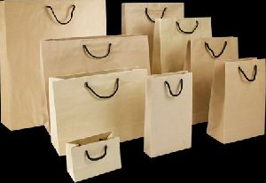 Twisted Paper Handle Bag