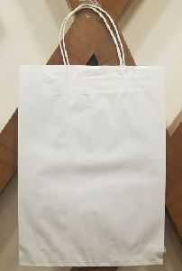 V Bottom Paper Bag with Paper Twisted Handle