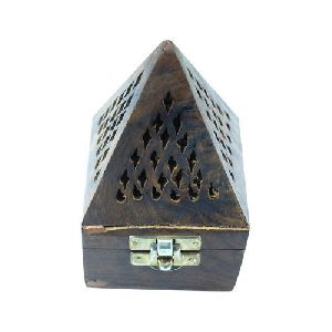 Wooden Incense Holder 02