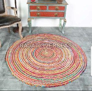 Braided Jute Floor Rugs