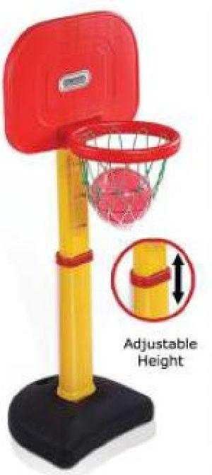 Adjustable Basketball Set