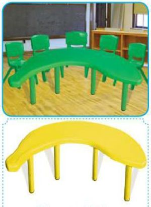 Banana Table (Without Chair)