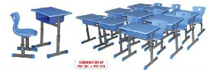 School Bench and Chair Set
