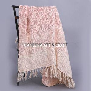 Plain Throw Blankets