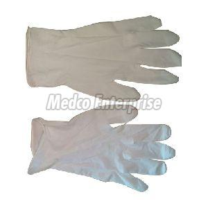 White Examination Gloves