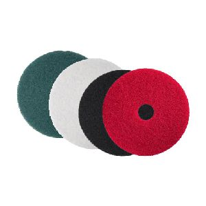 "17"" Red Floor Buffing & Scrubbing Pads"