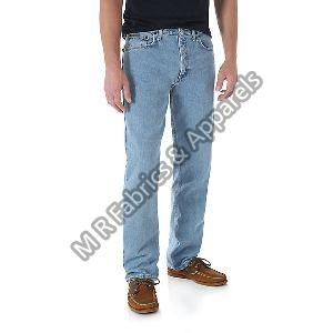 Mens Regular Fit Denim Jeans