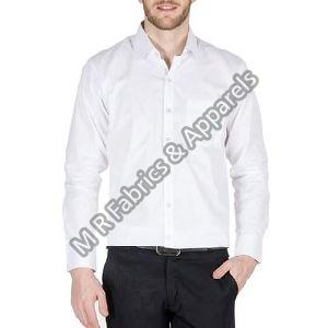 Mens White Cotton Shirts