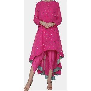 Ladies Pink Fancy Dress