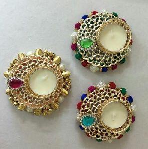 Decorative Brass Diya