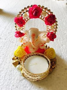 Lord Ganesha Diya