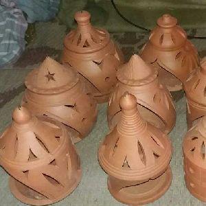 Terracotta Clay Lantern