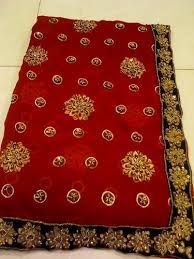 Hand Embroidered Saree