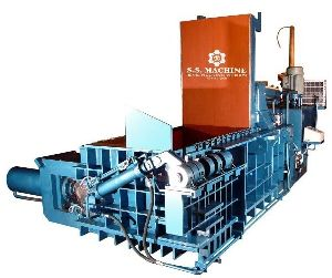Hydraulic Scrap Baler Machine