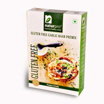 Gluten Free Garlic Naan Premix