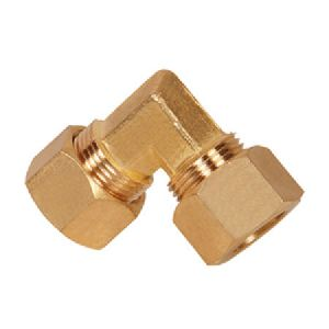 Brass Compression Union Elbow