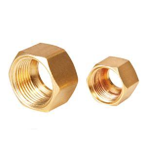 Brass Threaded Nut