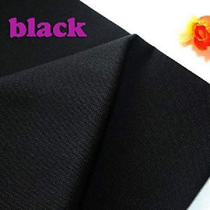 Black Cotton Duck Canvas Cloth