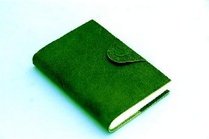 Green Exclusive Travel Leather Journal Diary