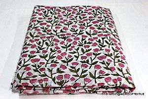 Handmade Block Printed Garment Fabric