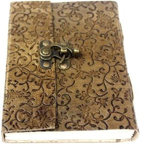 Medium Vintage Leather Journal Diary