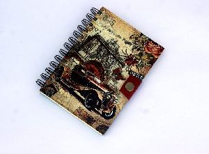 Pairs Cars Printed Cardboard Travel Journal Diary