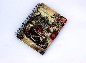 Pairs Cars Printed Cardboard Travel Journal Diary