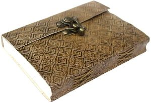 Premium Quality Flower Embossed Diary Notebook