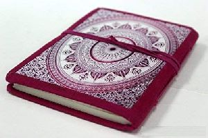 Printed Paper Journal  Diary