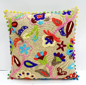 Suzani Retro Decorative Cotton Square Cushion Cover