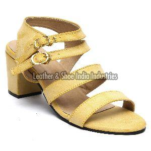Ladies Block Heels