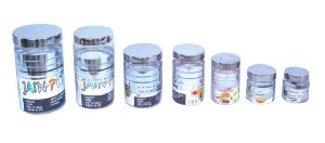1000ML Silver Line PET Container